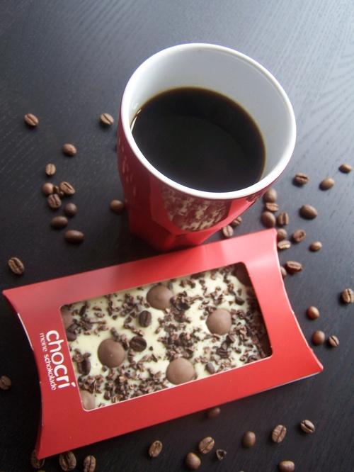 Schokoladentafel Wachmacher