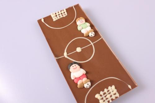 EM-Tafel individuelle Schokolade
