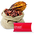 Schokosack mit chocri-Verpackung