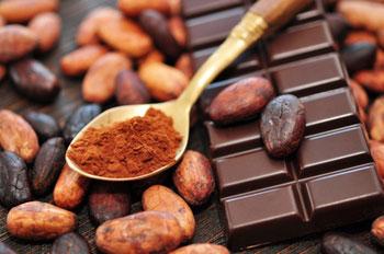 Schokolade naschen