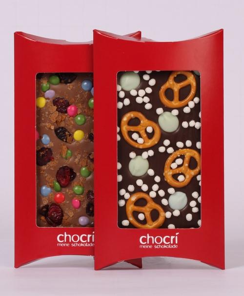 individuelle Schokolade Waffel