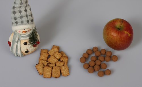 individuelle Schokolade Spekulatius Apfel Zimt Crisp