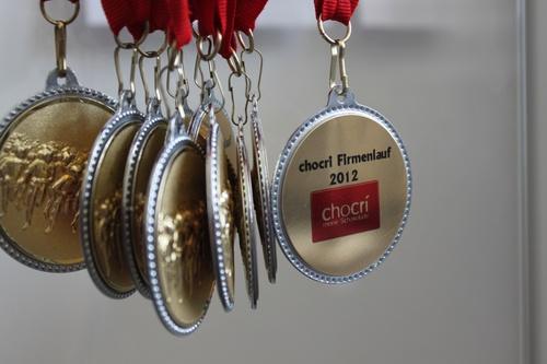 Teilnehmer Medaillen