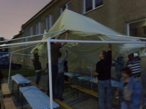 Sommerfest Zelt