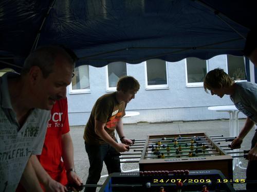 chocri Sommerfest Kicker