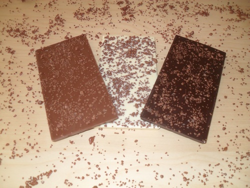 Sizzle Rocks for your customized chocolate bars