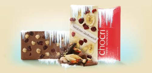 Gekühlte Schokolade