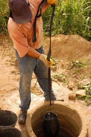 Brunnen in der Elfenbeinküste