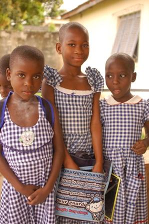 Kinder aus dem Waisenhaus