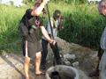 Bild vom Brunnenbau in der Elfenbeinküste