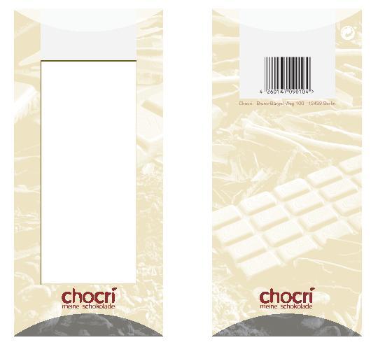 Chocri Verpackung 2
