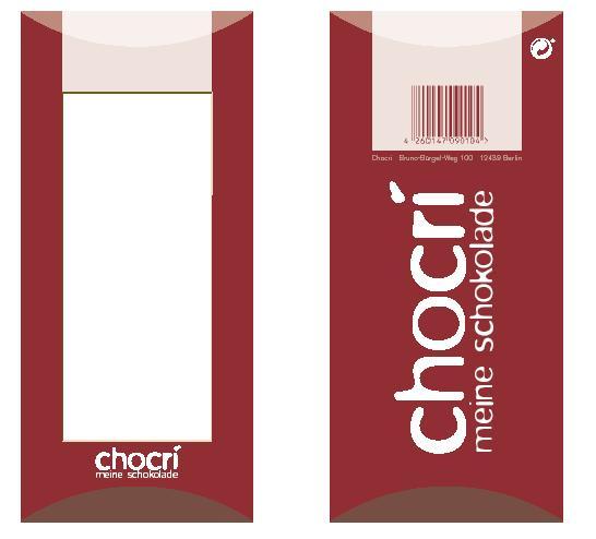 Chocri Verpackung 3
