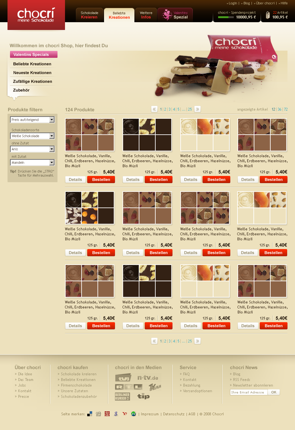 chocri-Shop