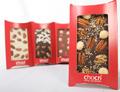 Vier Schokoladentafeln