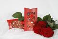 Schokoladentafel zum Valentinstag