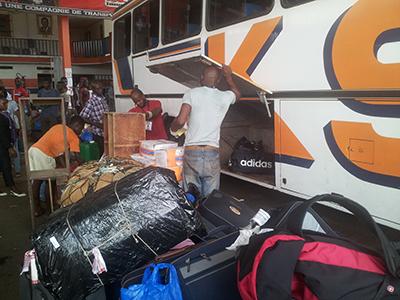 Bus in Afrika