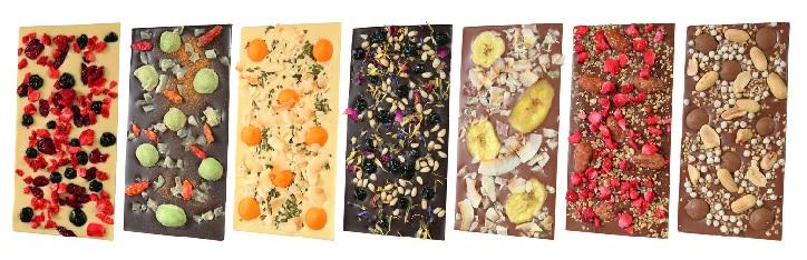 chocri - Schokoladentafeln Auswahl