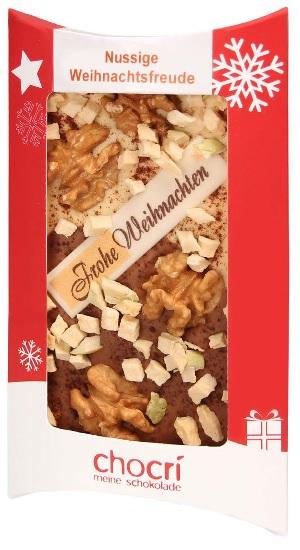 Weihnachtstafel Nussige Weihnachtsfreude