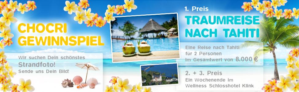 Tahiti Gewinnspiel
