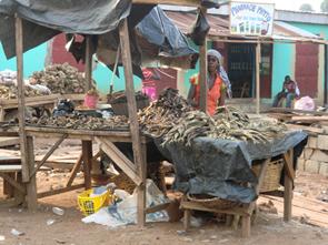 Markt in Afrika