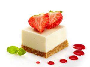 Erdbeer Pana Cotta Torte