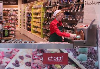 Deine persönliche chocri Schokoladenproduktion bei Hussel
