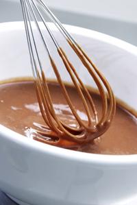 flüssige Mousse au Chocolat
