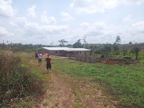 Haus in Afrika